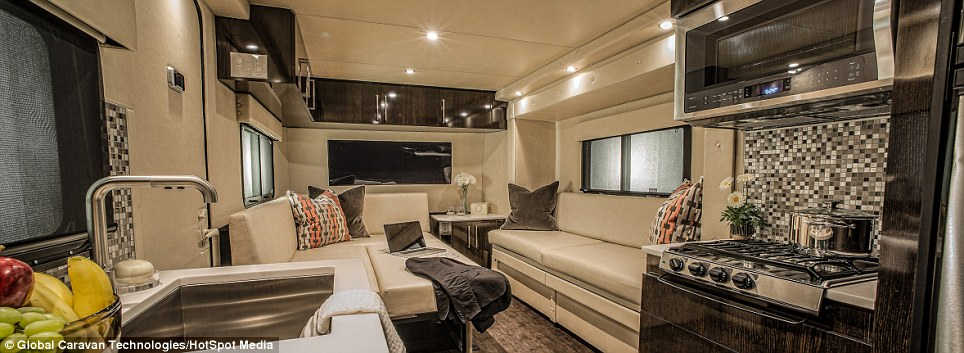 Incredibly Stunning First All Carbon Fiber Luxury Rv