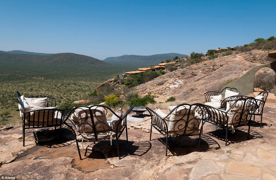 These hotel rooms have the most spectacular view Saruni Samburu safari lodge