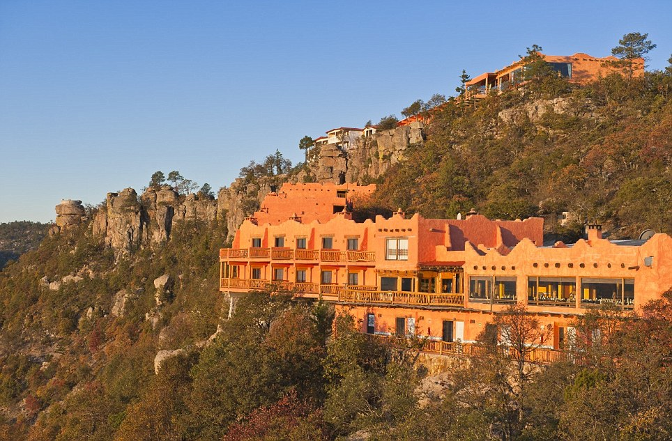 These hotel rooms have the most spectacular view Posada Mirador Hotel in Chihuahua