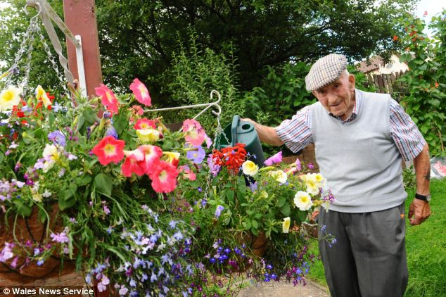 Des churchill the grandpa  spends 25 years and £10,000 of his pension building a garden
