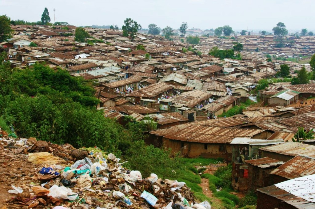 most densely populated places on Earth Kibera, Nairobi, Kenya