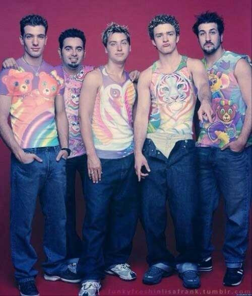 Embarrassing And Funny 80s/90s Fashion N'Sync