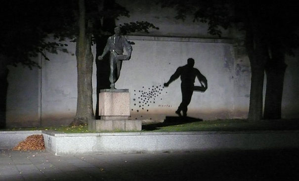 These Illusion Created By Shadows Are Amazing! It's Like These Photos Are Telling A Different Story.'
