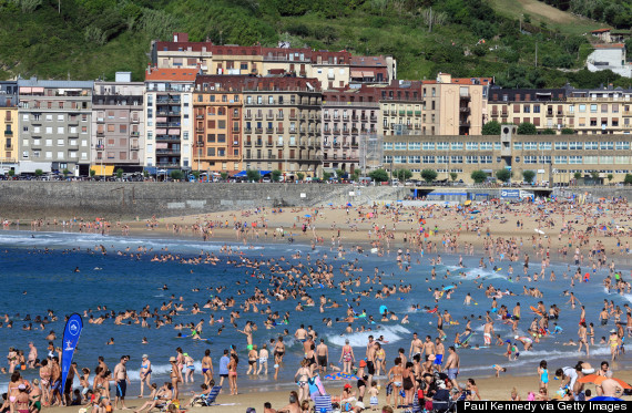 the-10-most-crowded-beaches-in-Europe Gros Beach