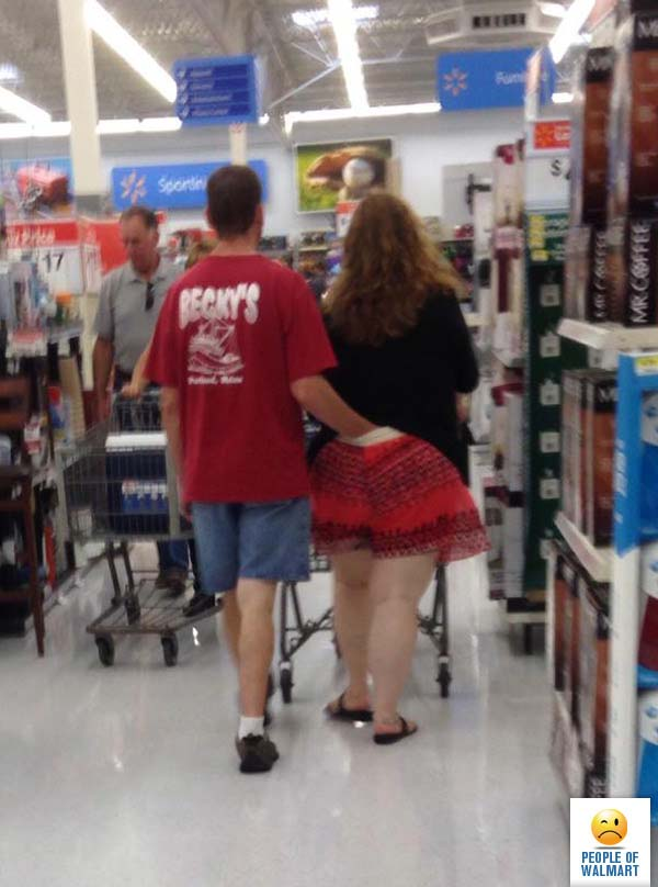 New Episode Of People Of Walmart: Look At How Messy They Are, You Shouldn't Be Shopping, You Should Be On Show!