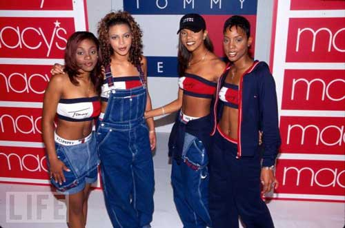 Embarrassing And Funny 80s/90s Fashion Beyonce and Destiny's Child