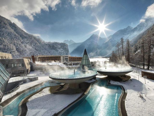 swim places spots pools 27. Aqua Dome, Austria
