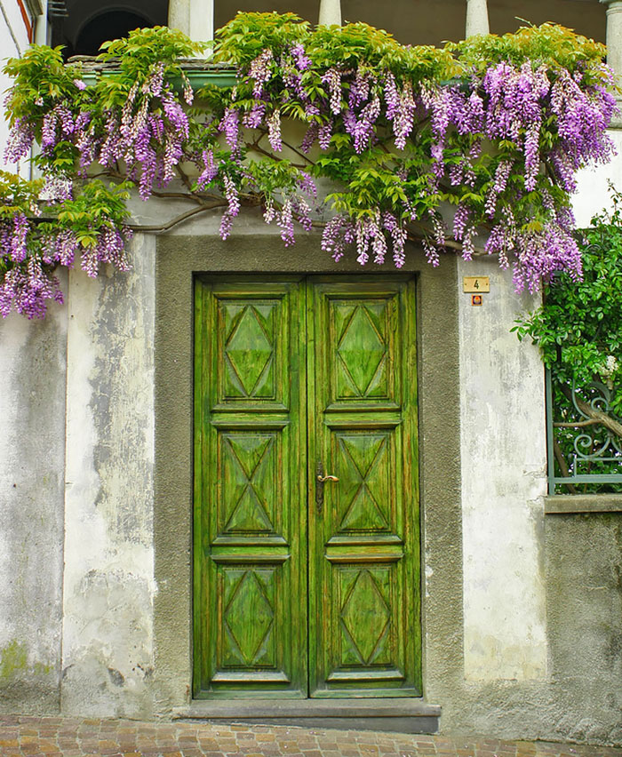 Magical doors that seem to lead you into another world
