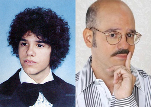 photos of comedy actors when they were kids David Cross