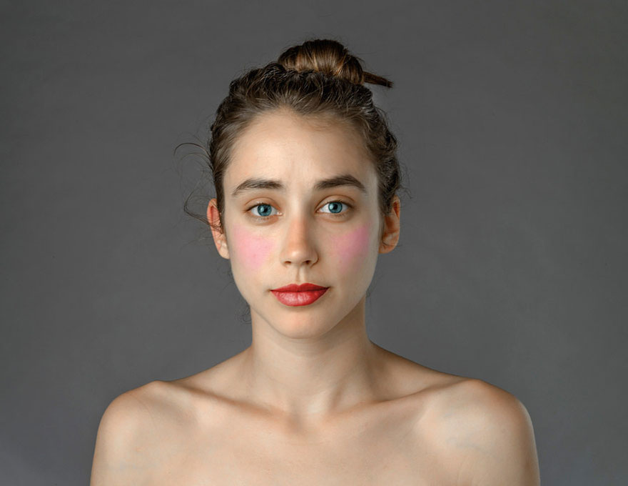 Woman Has Face Photoshopped In Over 25 Countries To Examine Global Beauty Standards