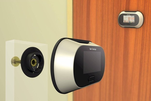 This is genius! These awesome products are so going to make your workday much better! digital peephole