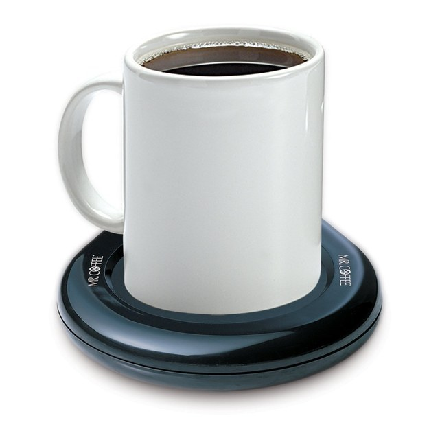 This is genius! These awesome products are so going to make your workday much better! And a mug-warmer.