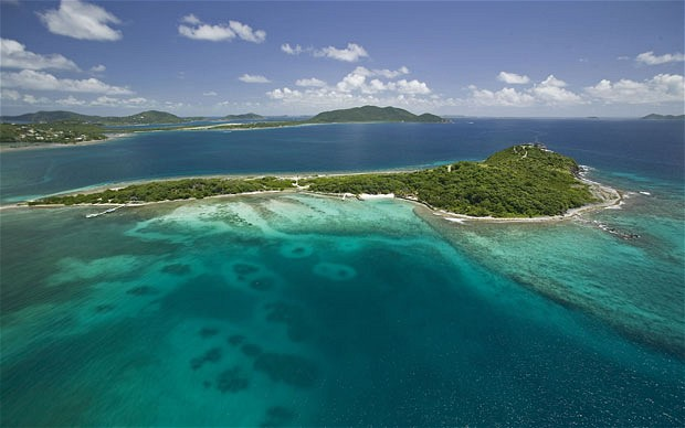 luxurious private island for vacation Buck Island, British Virgin Islands
