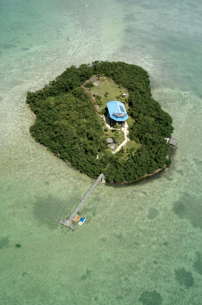 luxurious private island for vacation Melody Key, Florida, USA