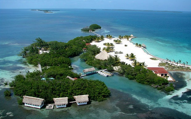 luxurious private island for vacation Royal Belize, Belize
