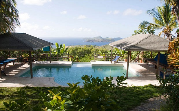 luxurious private island for vacation Mustique Island, St. Vincent