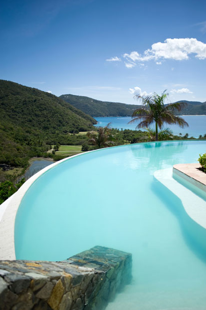 luxurious private island for vacation Guana Island, British Virgin Islands