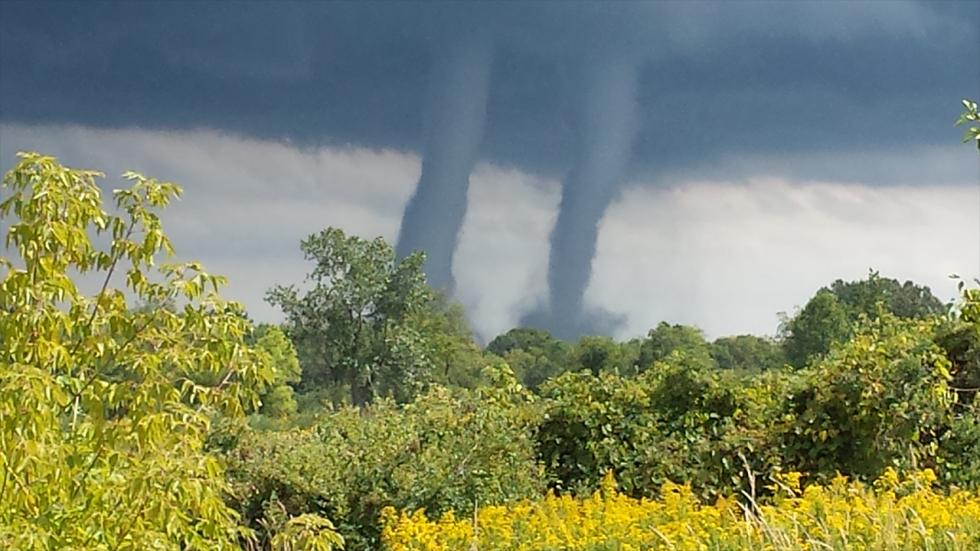 It's amazing out there awesome pictures Water Spouts Over Lake Michigan