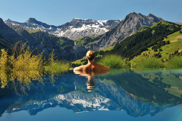 swim places spots pools 3. The Cambrian Hotel, Switzerland