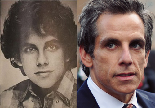 photos of comedy actors when they were kids Ben Stiller