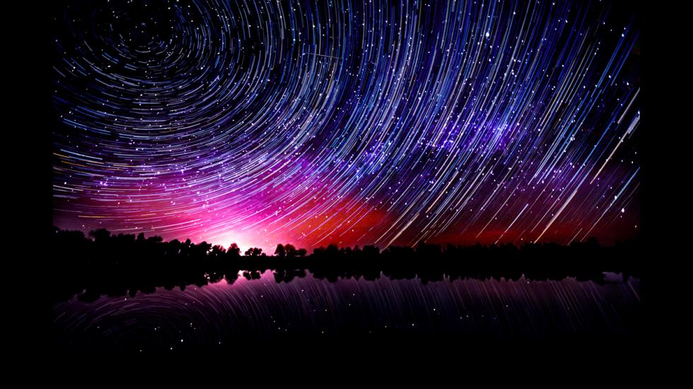 It's amazing out there awesome pictures Star Trails Over Howe's Lake