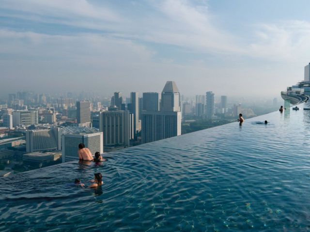 swim places spots pools 5. Marina Bay Sands, Singapore