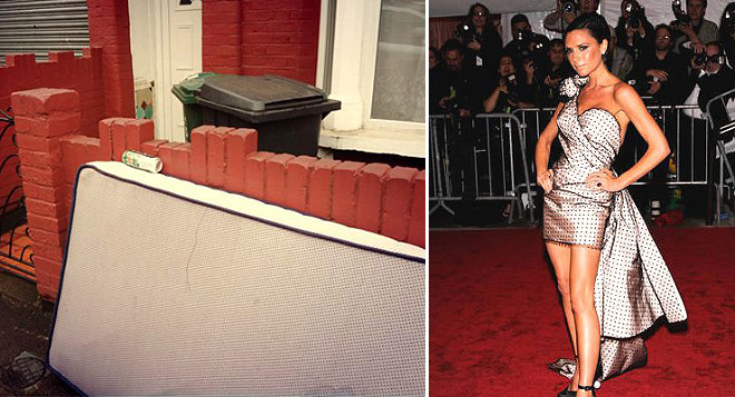 Celebrities who look like Mattresses Victoria Beckham