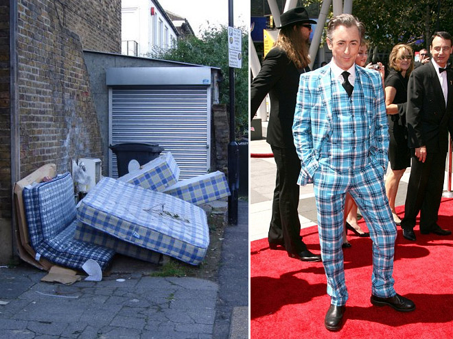 Celebrities who look like Mattresses Alan Cumming