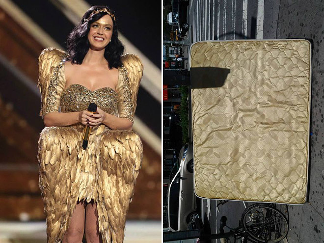 Celebrities who look like Mattresses Katy Perry