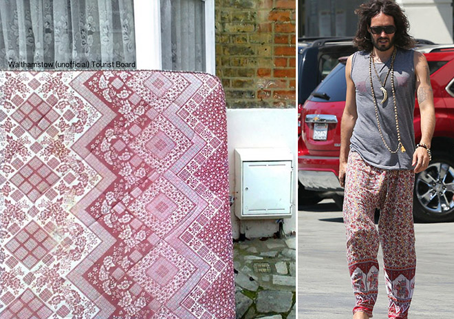 Celebrities who look like Mattresses Russell Brand