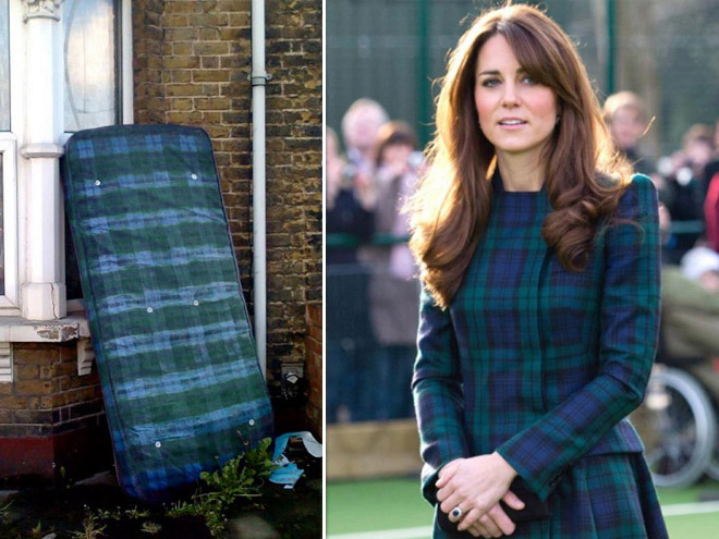Celebrities who look like Mattresses Kate Middleton