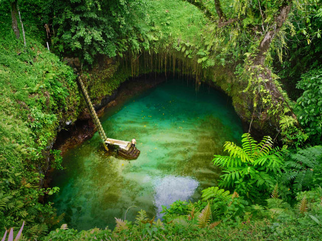 swim places spots pools 16. Tosua Pool, Samoa