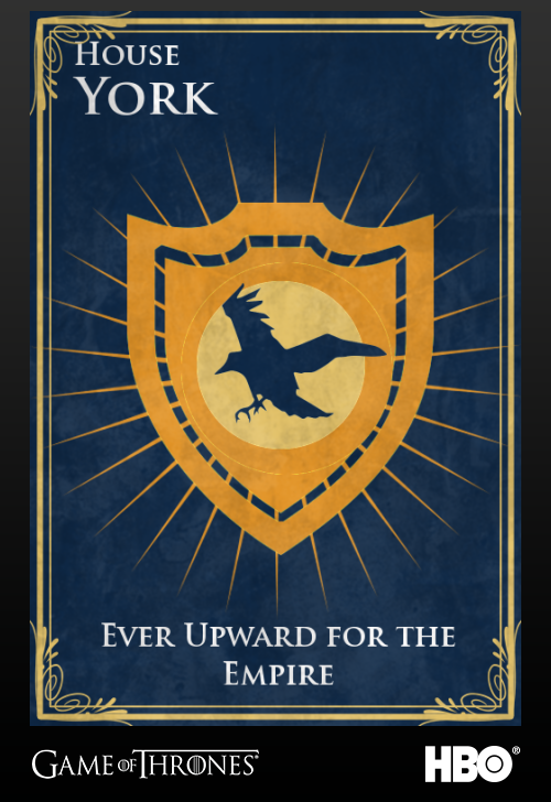 'Game of thrones' fans State Sigils HBO's website York
