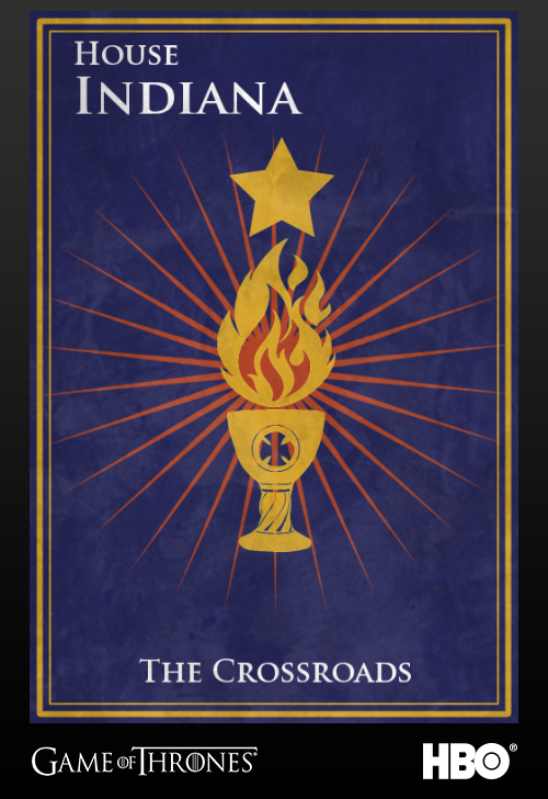 'Game of thrones' fans State Sigils HBO's website Indiana