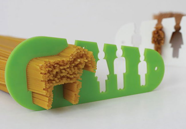 clever inventions that will make your life so much easier Spaghetti Measuring Tool