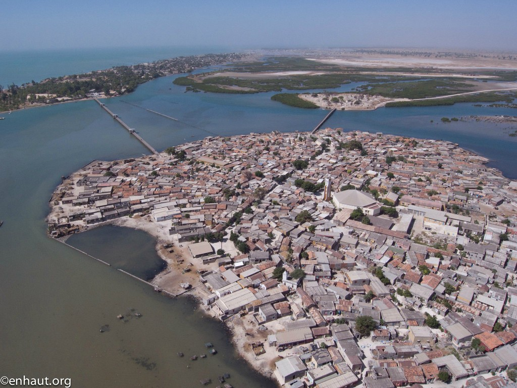 most densely populated places on Earth  Fadiouth, Island, Dakar