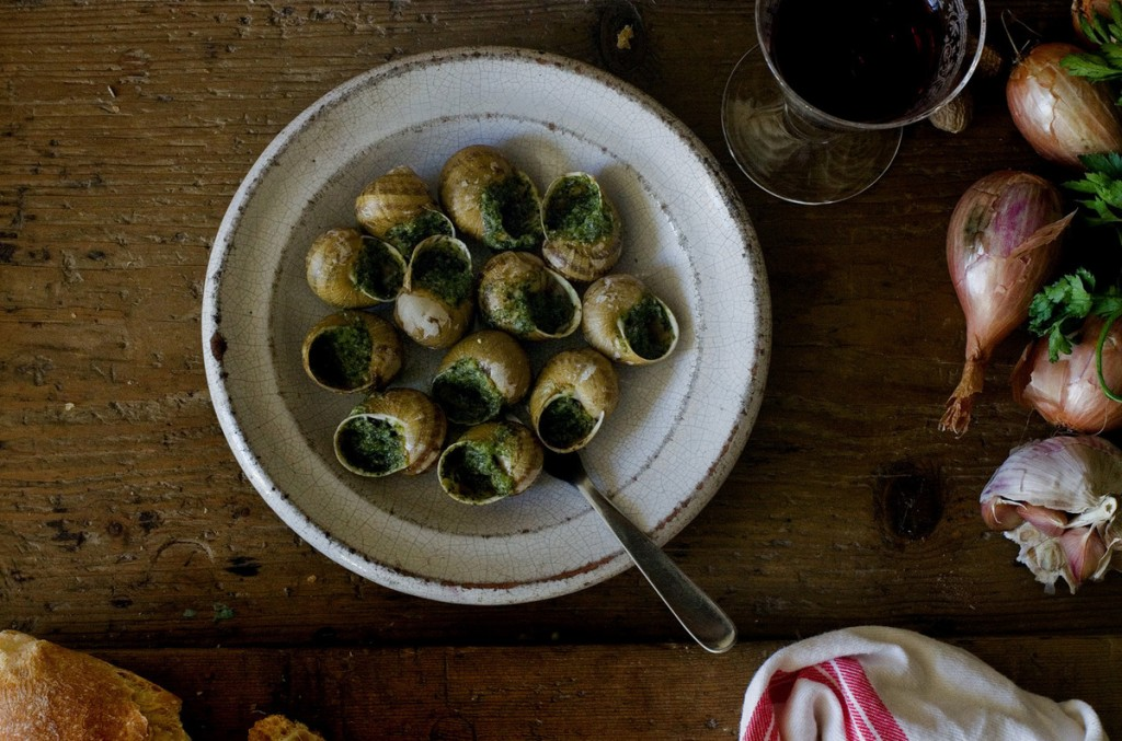 French food? Here are some recipes  Escargots à la Bordelaise