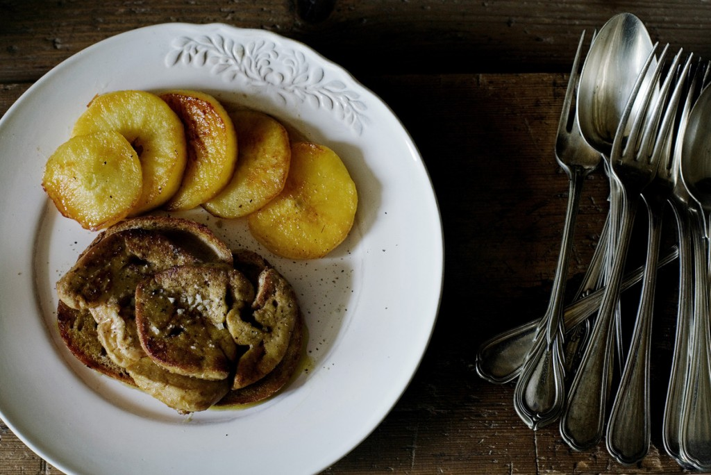 French food? Here are some recipes  Pan-Fried Foie Gras
