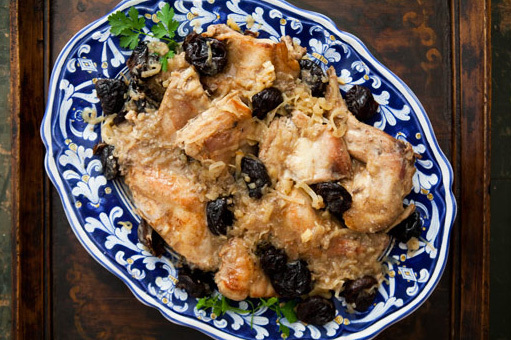 French food? Here are some recipes   Braised Rabbit With Prunes