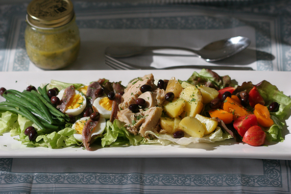 French food? Here are some recipes  Niçoise Salad