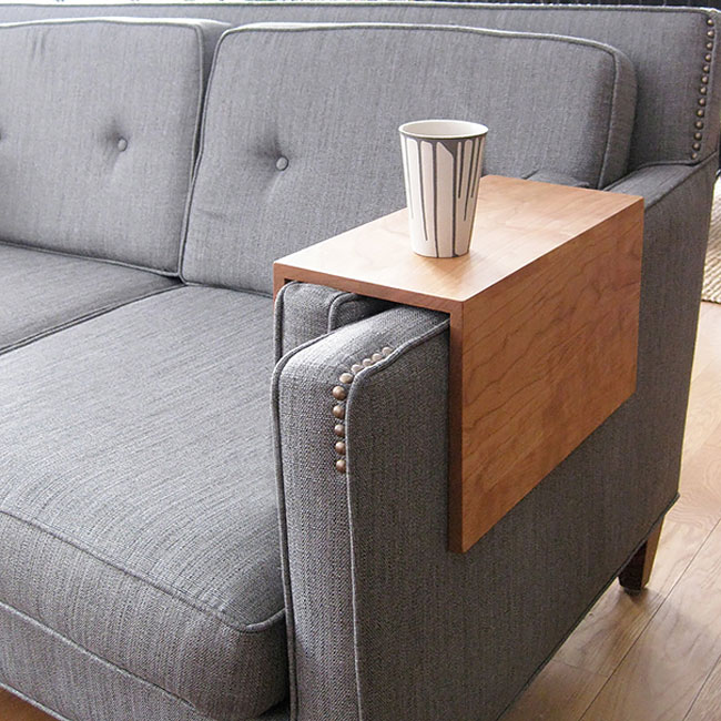 clever inventions that will make your life so much easier Couch Armrest Table