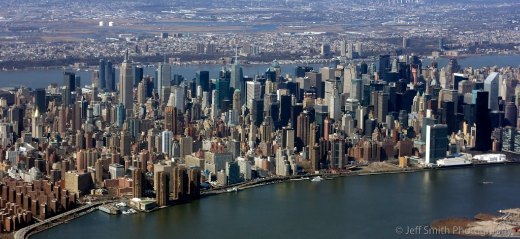 most densely populated places on Earth  Manhattan