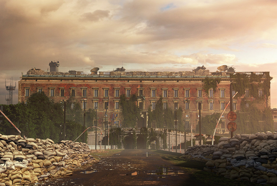The last of us: apocalyptic pictures of the end of the world Stockholm Palace, Sweden