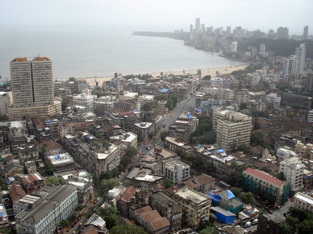 most densely populated places on Earth  Marine Lines, Mumbai, India