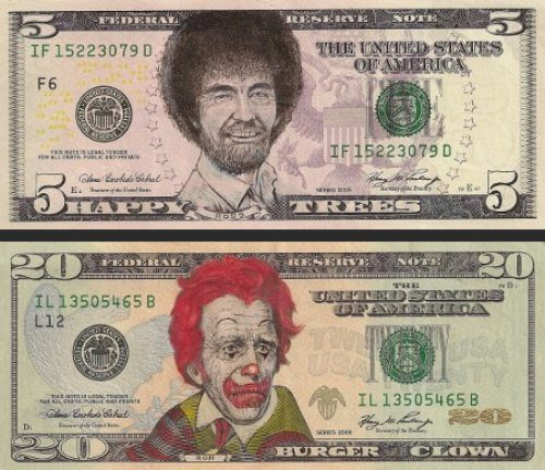 Some Very Creative Dollar Art! I Wish Money Could Actually Look Like This!