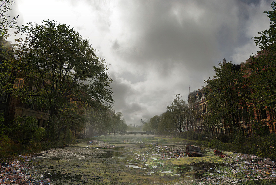 The last of us: apocalyptic pictures of the end of the world Amsterdam