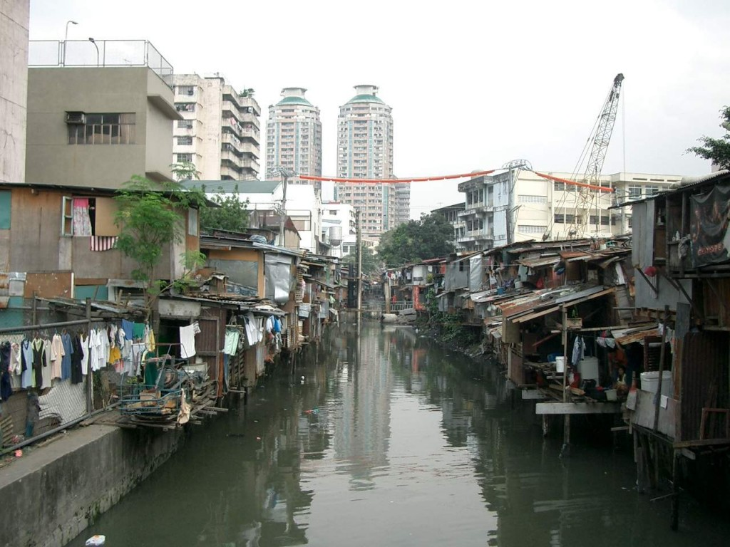 most densely populated places on Earth Tondo district, Manila, Philippines