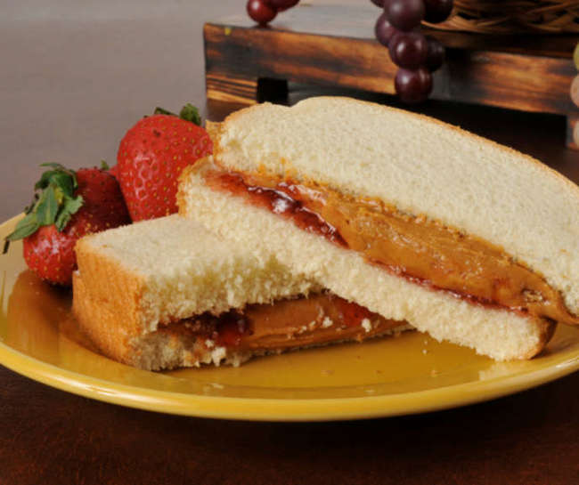 simple foods loved by all American but hates by foreigners Peanut Butter & Jelly