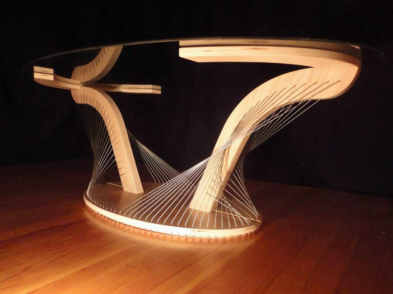 Awesome furniture are held together only by tension