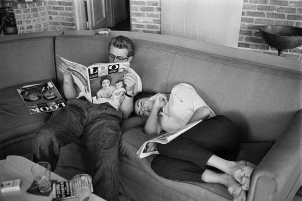 rare photos of the old and the dead James Dean and Elizabeth Taylor